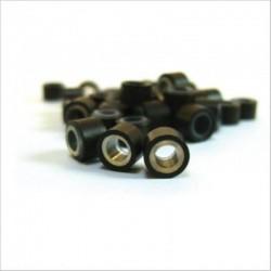 100 brown rings, 2 pullers