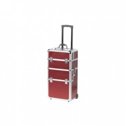 8961.51 Trolley 2 en 1 Red Wine, Frame Alu