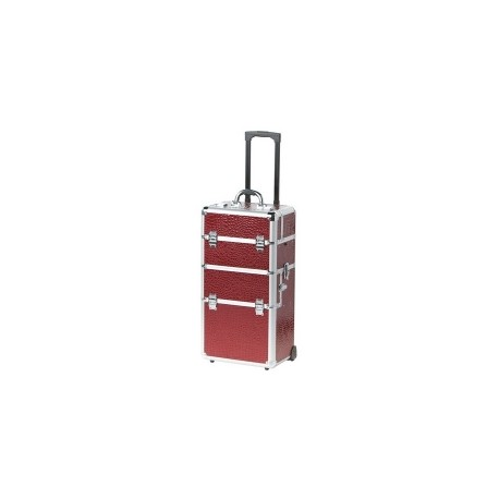 8961.51 Trolley 2 en 1 Red Wine, Frame Alu