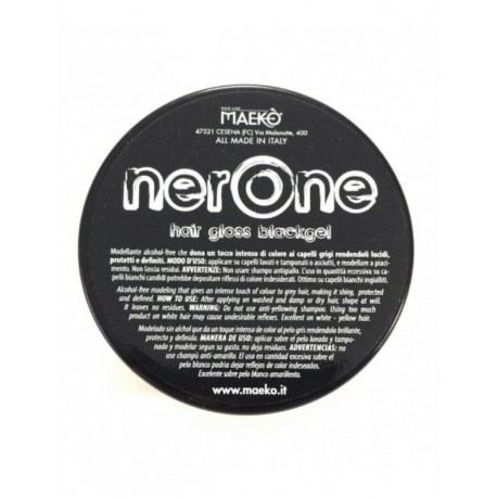 HAIR GLOSS BLACK 100ML