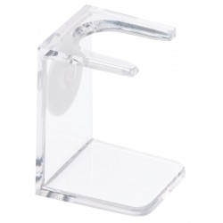 SHAVING BRUSH STAND,U-SHAPE,TRANSPARENT BARBURYS