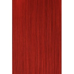 Extensions keratine 50-55cm red 10pcs