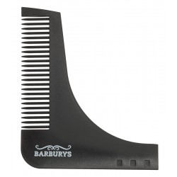 BARBERANG BEARD SHAPING COMB  BARBURYS